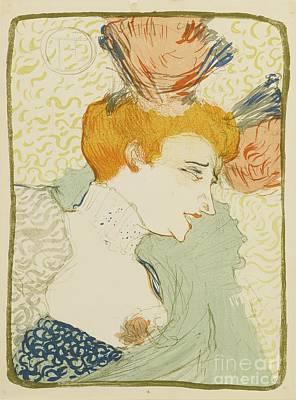Lender Painting - Mademoiselle Marcelle Lender by Henri