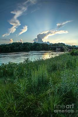 In Eau Claire Wi Photograph - Madison St Sunset by Lowell Stevens