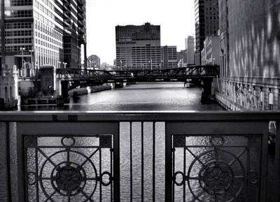 Madison Street Bridge - 3 Print by Ely Arsha