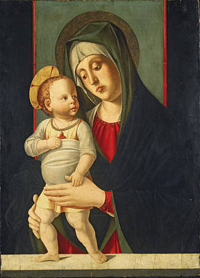 Painting - Madonna And Child by Jacopo da Valenza