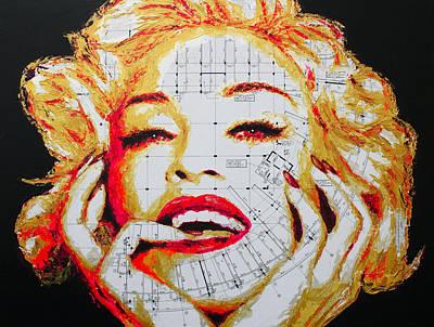 Madonna Painting - Madonna by Havi
