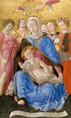 Domenico Di Bartolo Painting - Madonna Of Humility by Domenico di Bartolo