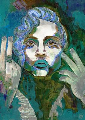Madonna Vogue II Print by Kimmo Matias Paintings