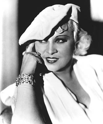 Publicity Shot Photograph - Mae West, Paramount Pictures, Ca. Mid by Everett