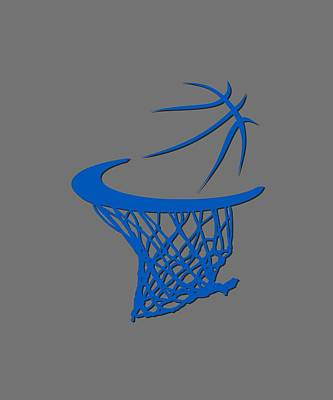 Orlando Magic Photograph - Magic Basketball Hoop by Joe Hamilton