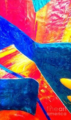Magic Carpet Ride Painting - Magic Carpet Ride by Jacqueline McReynolds