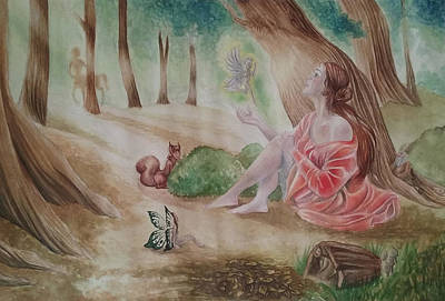 Magic Creatures Original by Fabiola Bonghi