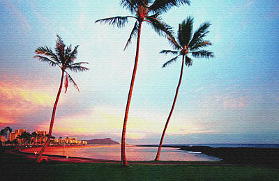 Magic Island Canvas Print by Kevin Smith