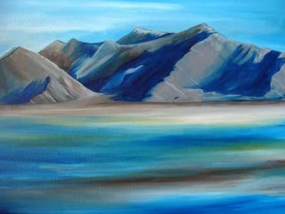 Magic Mountains Print by Ramneek Narang