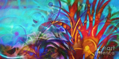 Fantasy World Painting - Magic World by Lutz Baar