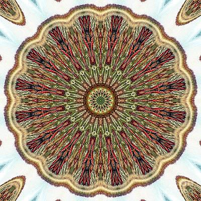 Magical Mosaic - Shamanic Power Circle 1 Print by Sofia Metal Queen