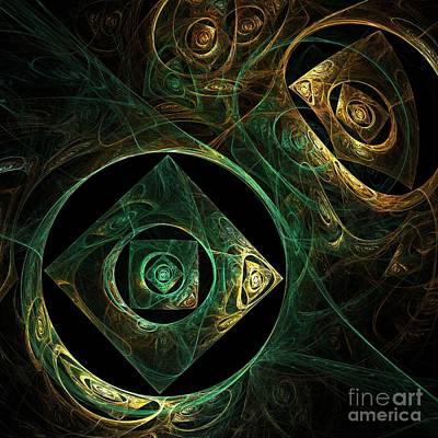 Magical Vibrations Print by Oni H
