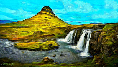 Walls Painting - Magnific Nature - Pa by Leonardo Digenio