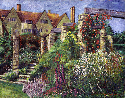 Magnificent Garden Original by David Lloyd Glover
