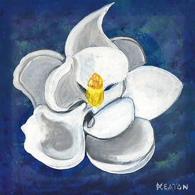 Painting - Magnolia by John Keaton