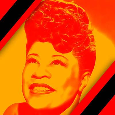 Mahalia Jackson Mixed Media - Mahalia Jackson Collection by Marvin Blaine