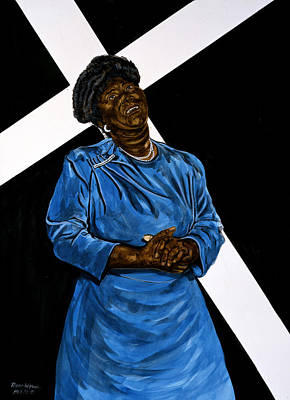 Mahalia Jackson Painting - Mahalia by Roger W Price