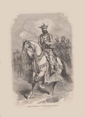 Maharajah Of Gwalior 1 Original by Angela Lautin