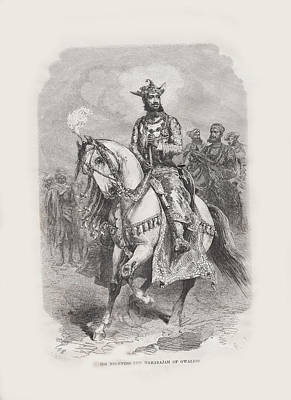 Maharajah Of Gwalior 3 Original by Angela Lautin