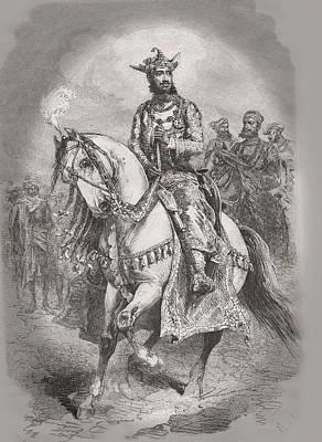 Maharajah Of Gwalior 4 Original by Angela Lautin