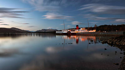Scotland Photograph - Maid Of The Loch 3 by Grant Glendinning