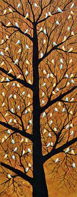 Maighan Vriksh Monsoon Tree Original by Sumit Mehndiratta