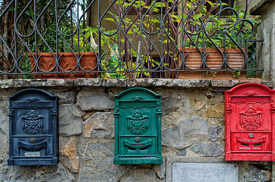 Mail Box Photograph - Mail Boxes by Mountain Dreams