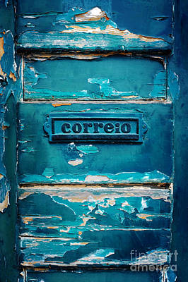 Mailbox Blue Print by Carlos Caetano