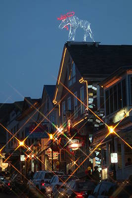 Geddy Photograph - Main Street Bar Harbor 2 by Living Color Photography Lorraine Lynch