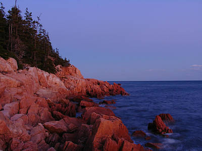 Maine Acadia Np  Print by Juergen Roth