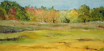 Maine Marsh Print by Jean Blackmer