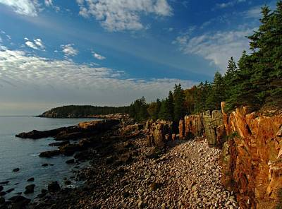 Maine Rocky Coast Print by Juergen Roth