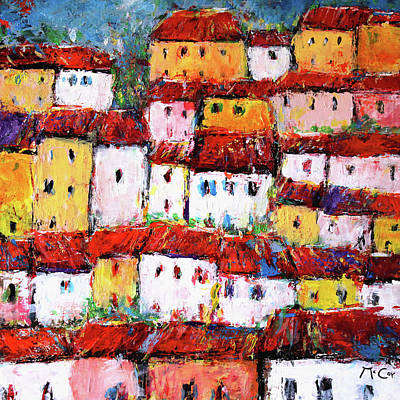 Painting - Maisons De Ville by K McCoy