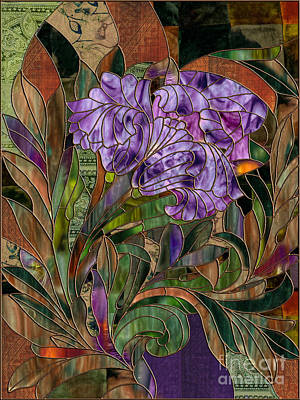Majani Print by Mindy Sommers