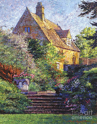 Mansions Painting - Majestic Impressions by David Lloyd Glover