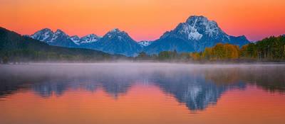 Majestic Morning Views Print by Darren White