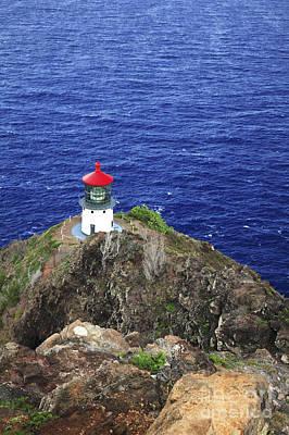 Makapuu Lighthouse II Print by Brandon Tabiolo - Printscapes