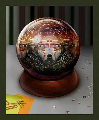 Post It Digital Art - 'make-believe' by Simon Currell