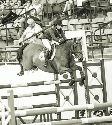 Eventing Photograph - Make Every Second Count by Betsy C Knapp