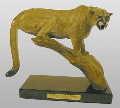 Bronze Sculpture - Make My Day by Hugh Blanding