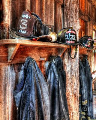 Fireman Photograph - Maker's Mark Firehouse by Mel Steinhauer