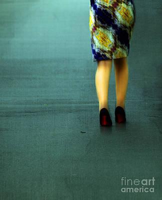 Shoes Photograph - Making Rain  by Steven  Digman