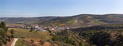 Casares Photograph - Malaga Province, Andalucia, Spain by Panoramic Images
