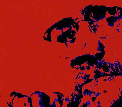 Malcolm X 5b Print by Brian Reaves