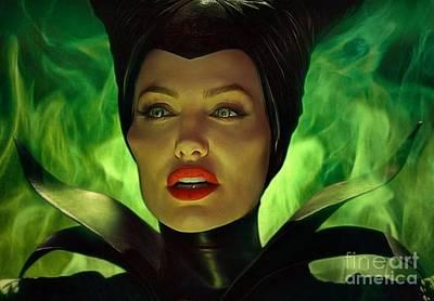 Maleficent Photograph - Maleficent by Sergey Lukashin