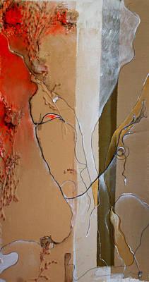 Abstracto Mixed Media - Maleficient by Elena Petrova Gancheva