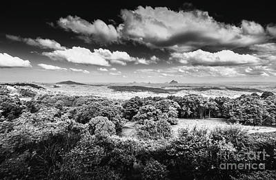Grey Clouds Photograph - Maleny Black And White Landscape by Jorgo Photography - Wall Art Gallery
