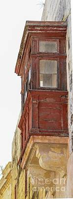 Maltese Traditional Balcony Original by Silvio Nocilla
