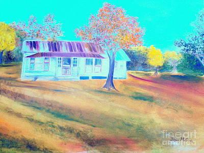 Mamas House In Arkansas Print by Jo Anna McGinnis