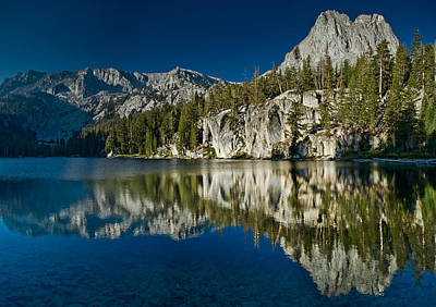 Mammoth Lakes Reflections Print by Greg Nyquist